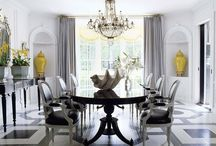 DINING SPACES / Beautiful dining tables and settings