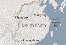 HIS/2China/Qin en Han dyna.277vC-220n.C / Qin dynasty 277 - 190 v.C. / western Han dynasty 119 - 59 v.C / Zijderoute 79 - 138