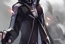 Anime Fan Art: Sword Art Online / Fanart from the popular anime Sword art online series 1 and 2