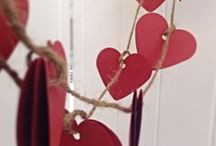 Valentine's Day Decor / Spread the love throughout your home with these fun and easy Valentine's Day home deco ideas.