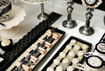 Black & white event ideas