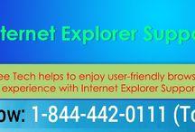Internet Explorer Help Number