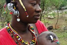 Beadwork from Senegal