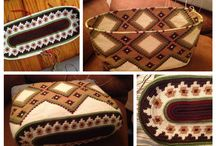 Mochila Wayuu Bag, Tapestry, Patterns