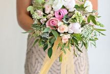 Bridesmaid Bouquet - Vintage
