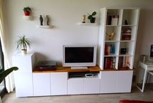 TV storage Ideas / Ideas for incorporating Tv's into the home