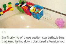 kids bathroom / by Julie Fitzsimmons