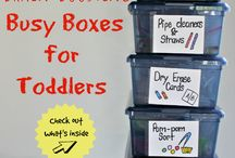 Toddler busy box