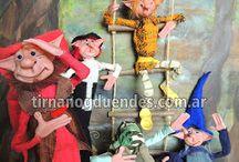 Nuestros duendes / Seres mágicos únicos modelados a mano. Articulados, estatuillas, recreaciones, móviles, juegos y más! Conocé toda nuestra magia en www.tirnanogduendes.com.ar