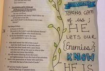 Art Bible Journaling / A fun and creative way to hide God's word in my heart ❤️