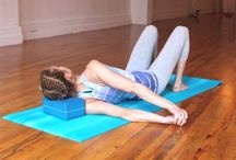 Yoga for Stress and injuries / Find sequences and poses that are restorative, and rejuvenating. Avoid injury in your yoga practice.