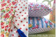 Tutorial De Travesseiro / Costura
