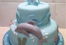 Dolphin cakes