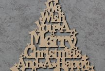 Christmas (laser cut)