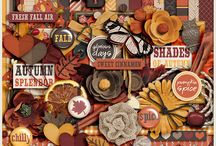 {Fragrance of Fall} Digital Scrapbook Kit by Aprilisa Designs
