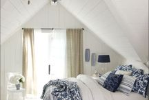 Cottage white bedrooms