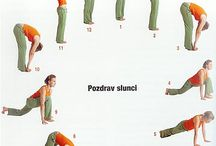 Cvičení, joga, rehabilitace / Cvičení, protahování, rehabilitace a rehabilitační pomůcky, joga, cviky