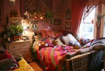 Bedroom / Indian inspired decor / by Molly Elizabeth