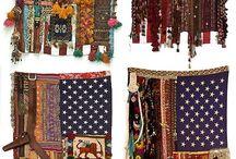 fabric art sewn