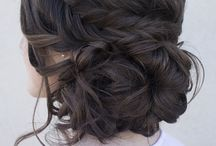 Evening hair-do's