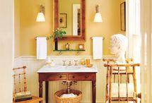 HOME: Bathtastic / Ideas for the guest bath, the master bath, the powder room.  / by KansasKate