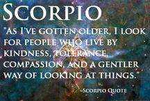 Scorpio / by Wendy Sbalbi (Siermienski)