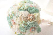 mint theme wedding