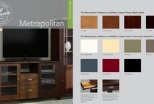 METROPOLITAN / Cool enough for city high-rises, warm enough for country farmhouses, Metropolitan satisfies the modern inclination for casual elegance.