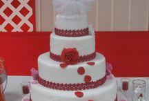 Tortas de boda Vicky y jose