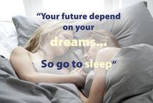 Sleeping Quotes / Fakta och bra att veta för en god nattsömn.