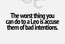 Signs of the Leo