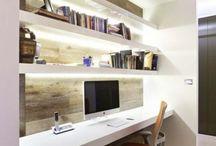 Bureau woonkamer
