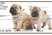 Shar Pei / Pics and gift ideas for Shar Pei owners. Visit doggiechecks.com for Shar Pei personal checks designs.