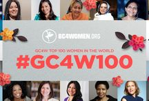 #GC4W100 Top Women in the World