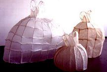 Sculptural garments