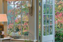 Pretty coloured windows