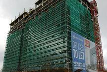 Kompleks biurowców West Station w Warszawie cd. /  W bliskim sąsiedztwie dworca Warszawa Zachodnia, którego budowę ukończono tuż przed Bożym Narodzeniem, deweloper buduje kompleks dwóch 13-kondygnacyjnych biurowców West Station. Inwestycja realizowana jest w dwóch etapach, a budynki zaoferują łącznie 67 tys. m2 powierzchni najmu. ULMA Construccion Polska S.A. jest kompleksowym dostawcą szalunków na budowę pierwszego biurowca.