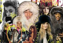 fashion moodboard / by Samantha De Reviziis Lady Fur