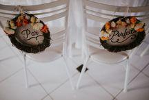 Cadeira dos noivos / Inspiração de decoração para a cadeira dos noivos.