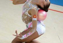 Body rhytmic gymnastic
