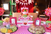 Elmo 1st Birthday Girl Party / by Amy Palmer-Perrier
