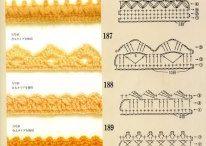 Orillas a crochet