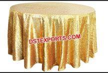 #Wedding #Embrodried #Table #Clothes #Overlays #Dstexports / We are manufacturing and exporting for all type of wedding decorations.