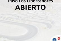 Estado de los Pasos Fronterizos / Estado de los pasos fronterizos entre Argentina y Chile