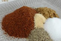 Seasonings and spices / Seasoning and spices