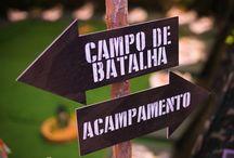 acampamento militar