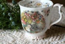 Collectable Vintage Mugs and Teacups