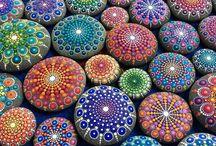 taşlar / taş süsleme- modeller
