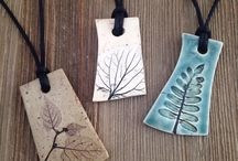 Pottery necklaces