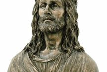 Jesus Sculptures / Decorate your home with these Jesus sculptures to add style, personality, and beauty to your home decor. They will give your current decor a splash of religious faith.